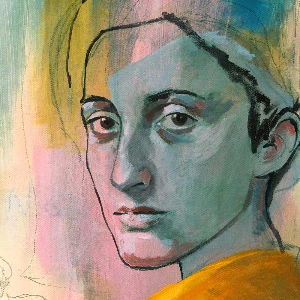 detail acryl on canvas 100cm x 70cm