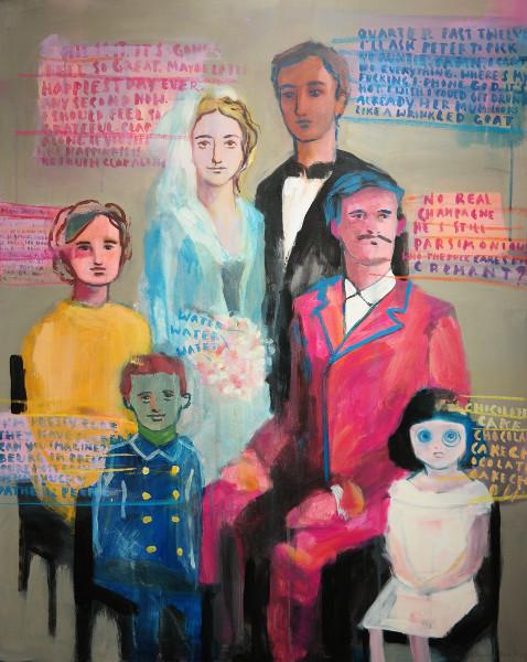 acryl on canvas 100cm x 70cm