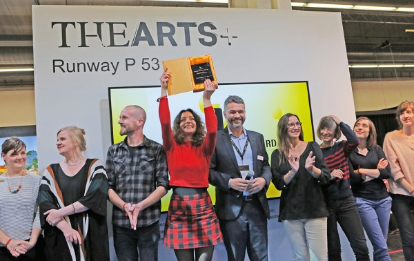 Frankfurt am Main, Hessen, Hesse, Deutschland, Germany. 20.10.2016   Global Illustraters Award in The Arts Halle 4     Flandern und  Niederlande  sind die  Ehrengaeste der Frankfurter Buchmesse 2016.    Flanders and Netherlands are  the Guest of Honour 2016 at the Frankfurt Book Fair
