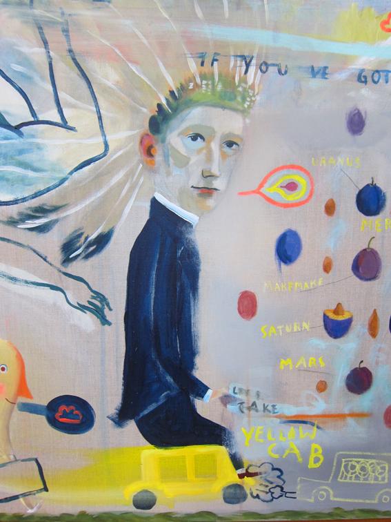 detail acryl on canvas 140cm x 100cm