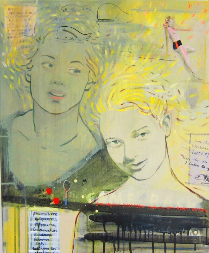 acryl on canvas 70cm x 50cm